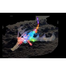 Дракон 57 в 1 с 3D-световой панелью
